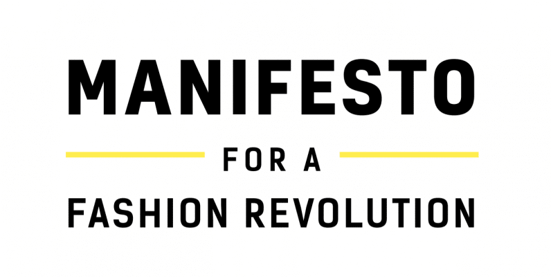 Myriam Moreno signs the Manifesto for a Revolution in Fashion. Know the Manifesto!