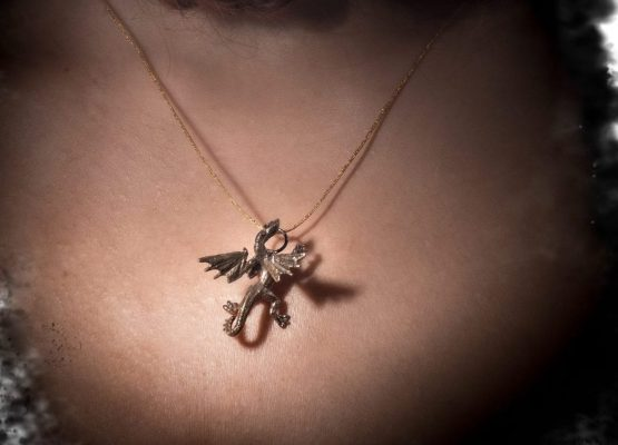 Viserion necklace lookbook