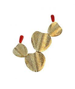gold palas brooch
