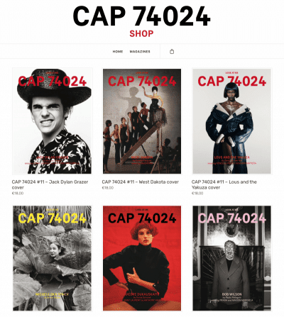 Preview in CAP 4024 Magazine. Editorial inspired in Asian culture and buddhism.
