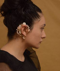 sea findings earcuff 03 ON MODEL