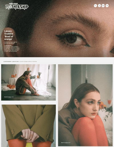 SCREEN SHOT sticks and stones agency editorial Bowl of orange