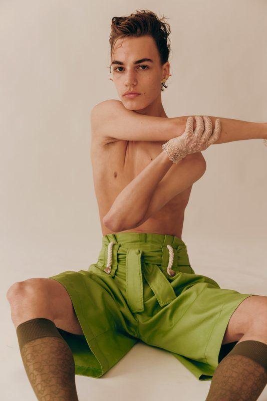 Bastian Bergstroom at UNO Models photographed by David Hauser and styled by Juan Camilo Rodriguez, in exclusive for Fucking Young! Online.