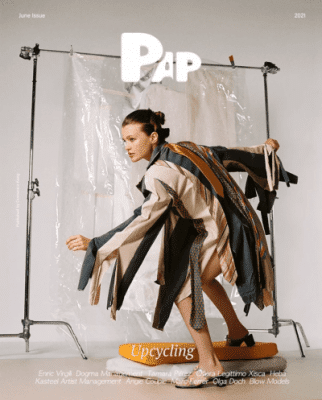 cover pap Upcyclin fashion editorial jewelry online