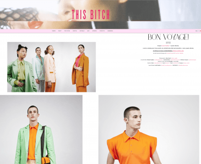 fashion editorial acid colors jewelry online