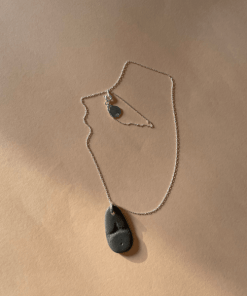 pebble necklace hand made jewelry online